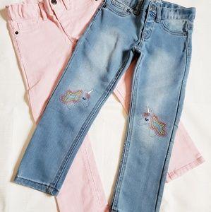 NWOT Cat & Jack 4T jeans bundle